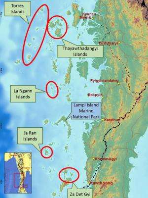 New Marine Protected Area proposed for Myanmar