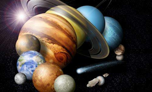 Solar System Simulation Reveals Planetary Mystery