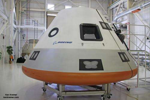 Tour of Boeing's CST-100 Spaceliner to LEO