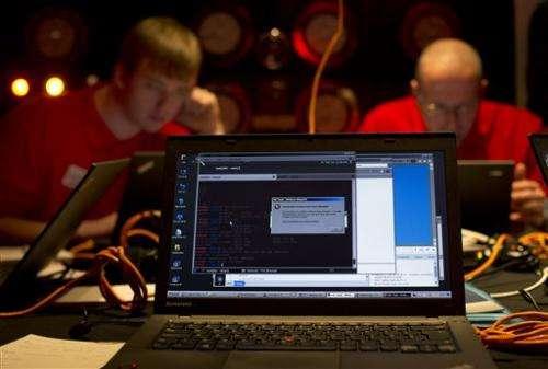 UK holds cyberwar game in Churchill's WW2 bunker
