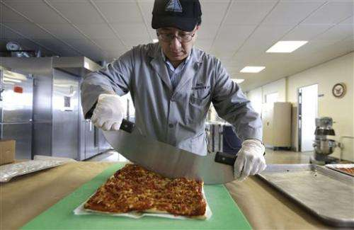 US military awaits pizza that lasts years