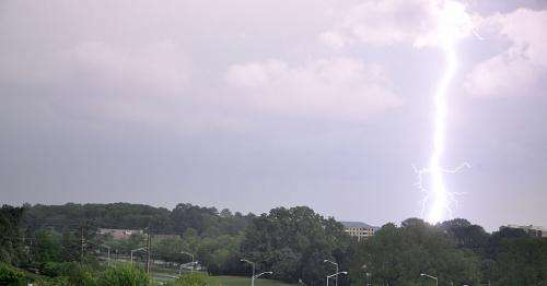 Researchers developing system to predict lightning