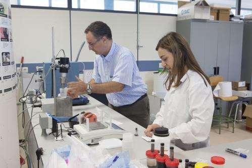 Researchers patent a nanofluid that improves heat conductivity