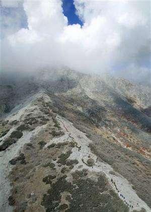 Japan police: Volcanic rocks killed most victims