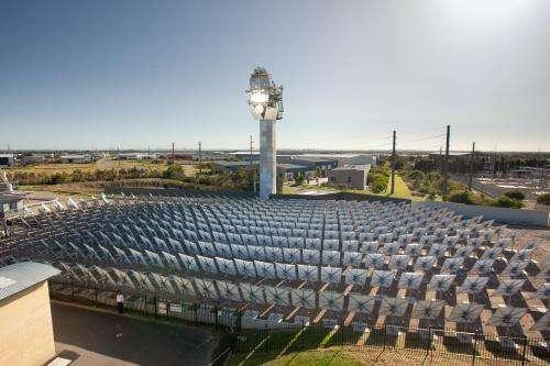 Researchers generate pressurised 'supercritical' steam, at the highest temperatures ever achieved using solar energy
