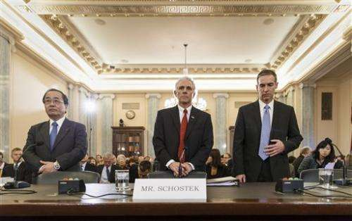 Senators get no clear answers on air bag safety