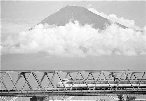 World's first bullet train, made in Japan, turns 50