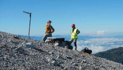 Researchers study carbon, methane emissions from volcanoes