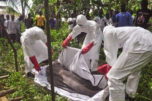 A look at latest Ebola developments