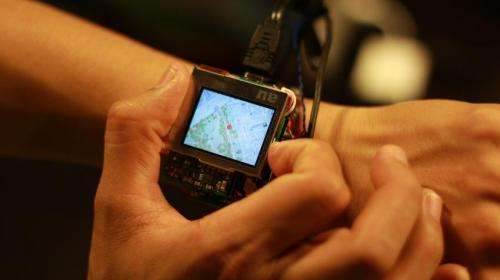 Carnegie Mellon prototype shows interface value of smartwatch