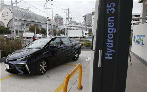 Toyota to start sales of fuel cell car next month