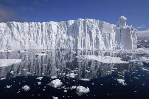 Climate change and the physics of falling icebergs