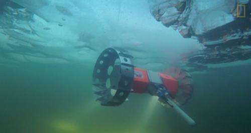 Rover under-ice prototype may lead to Europa search