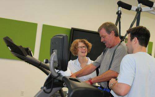 Research project puts stroke patients back on their feet