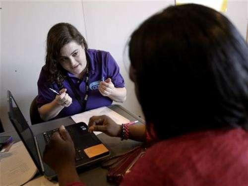 Health law sign-ups set to meet target