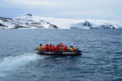 Air pollution in Antarctica