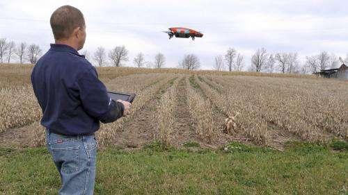 Researcher explores drone-driven crop management