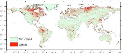 Chinese scientists create new global wetland suitability map