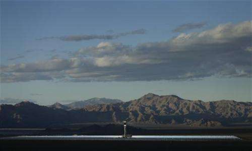 Huge thermal plant opens as solar industry grows