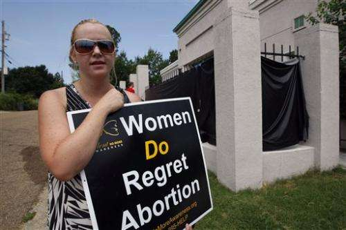 Abortion restrictions take root in US South