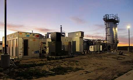 A green data center with an autonomous power supply