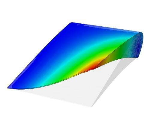 Aircraft wings that change their shape in flight can help to protect the environment