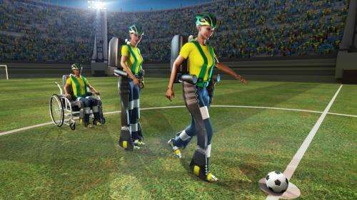 'All systems go' for a paralyzed person to kick off the World Cup