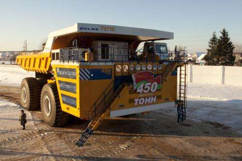 An electric drive system for the world's largest truck