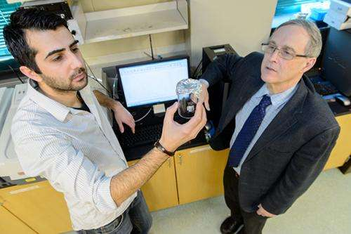 A new way to create porous materials