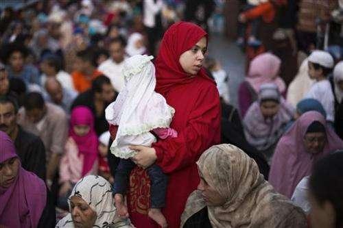 APNewsBreak: Egypt's birth rate dramatically rises