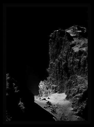 A Stunning Look at the Cliffs of Comet 67P/Churyumov-Gerasimenko