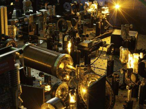 Atoms and molecules on the same wavelength