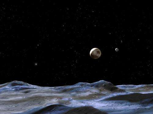A view from the moon