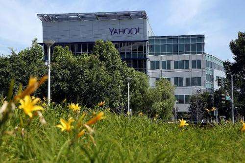A view of Yahoo! headquarters on May 23, 2014 in Sunnyvale, California
