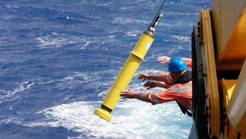 Bio robots make a splash in the Indian Ocean