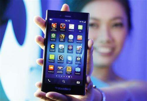 BlackBerry launches new smartphone for Indonesia