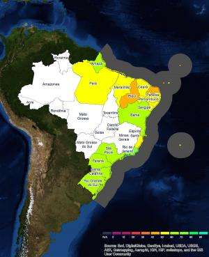 Brazil scores 60 out of 100 in first Ocean Health Index regional assessment