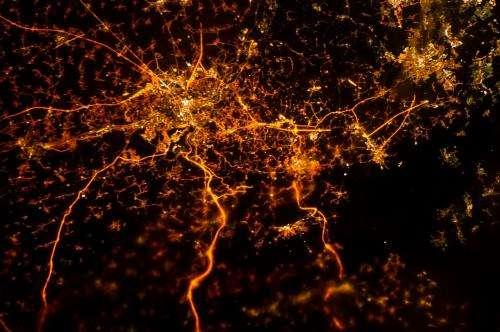 Bright lights: big cities at night
