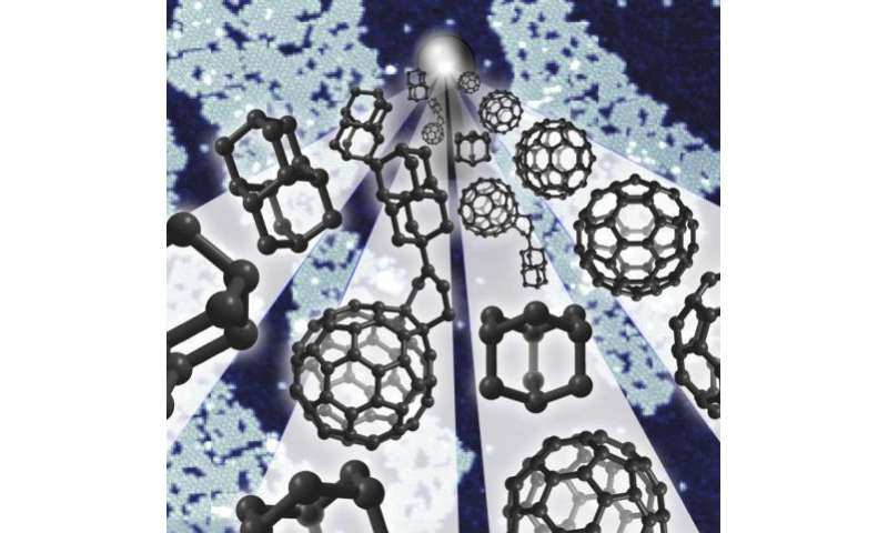 Buckyballs and diamondoids join forces in tiny electronic gadget