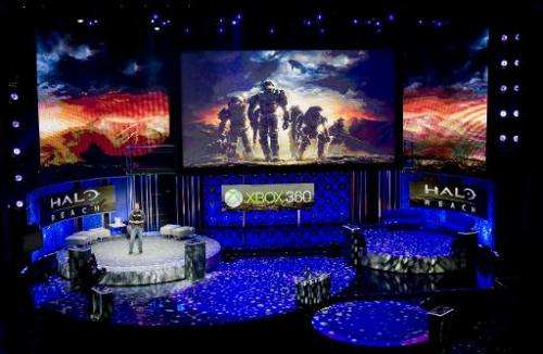 Bungie creative director Marcus Lehto reveals the Halo Reach video game ahead of the Electronic Entertainment Expo (E3) at the W