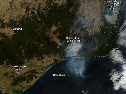 Bushfires continue to plague Victoria, Australia