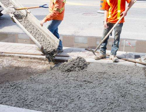 Sugar cane waste use as component of hydraulic concrete