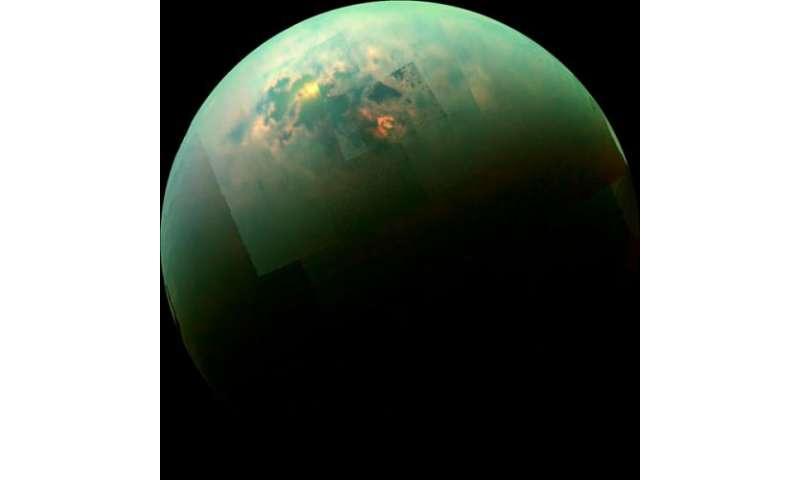 Cassini sees sunny seas on Titan