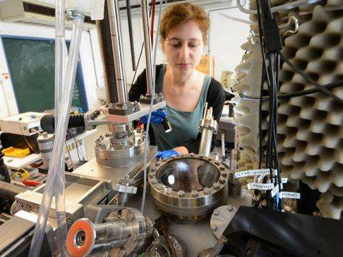 Chemical reaction yields 'tapes' of porphin molecules