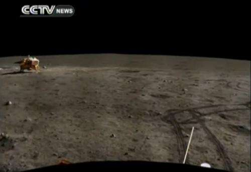 China's Yutu rover is still alive, reports say, as lunar panorama released