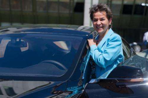Christiana Figueres, Costa Rican diplomat and executive secretary of the United Nations Framework Convention on Climate Change p
