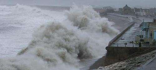 Coastal communities face winter threat