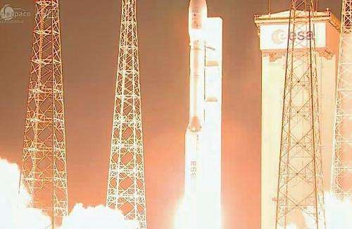 Commercial liftoff for Europe's smallest launcher