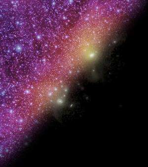 'Cosmic own goal' another clue in hunt for dark matter