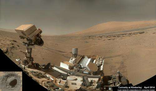 Curiosity bores into Kimberley rock after inspection unveils enticing bumpy textures